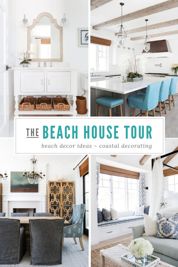 Newport Beach California Coastal Home Tour Pin
