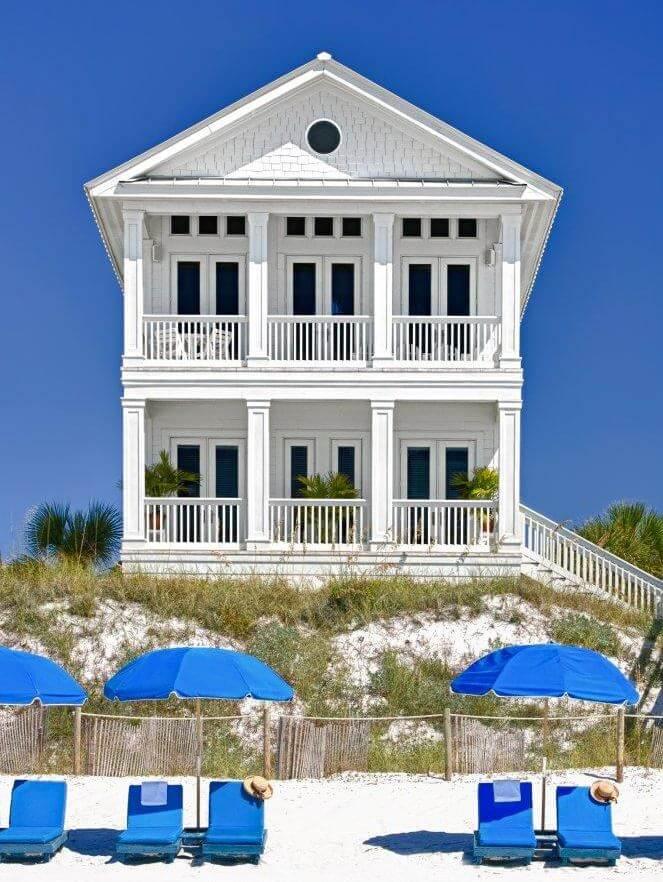 Carillon Beach Florida Beach House Exterior