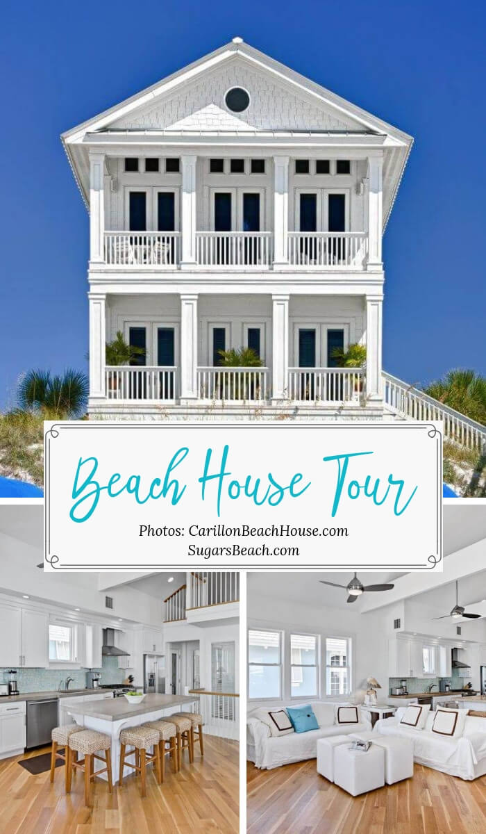 Carillon Beach Florida Beach House Tour Pin