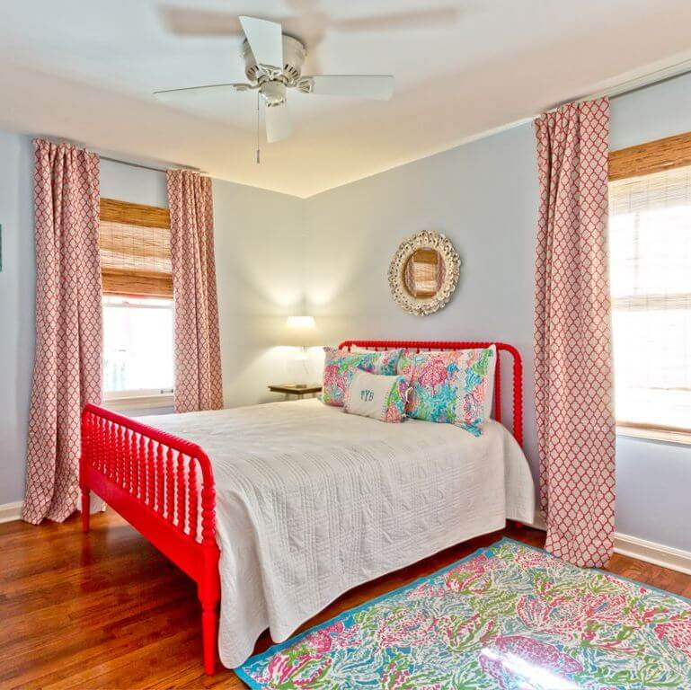 The Salty Mermaid Beach Cottage Guest Bedroom