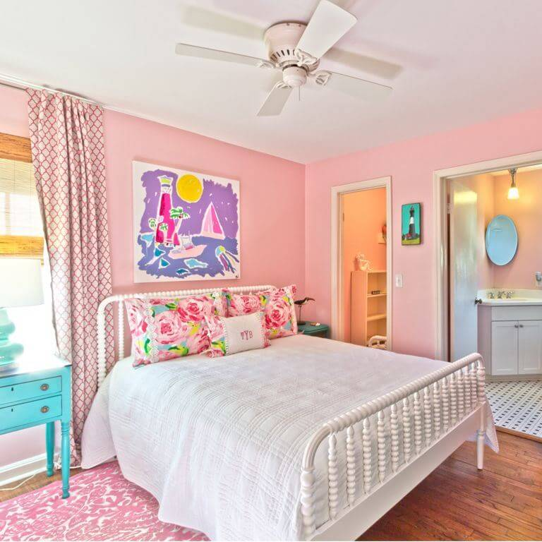 The Salty Mermaid Beach Cottage Master Bedroom