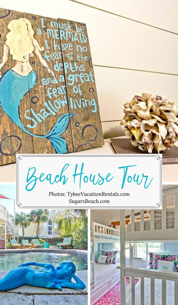 The Salty Mermaid Beach Cottage Tour
