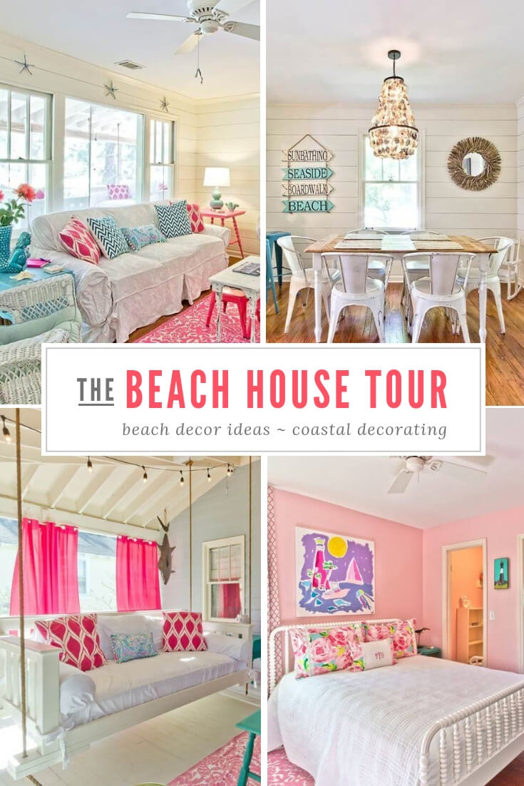 The Salty Mermaid Beach Cottage Tour Pin
