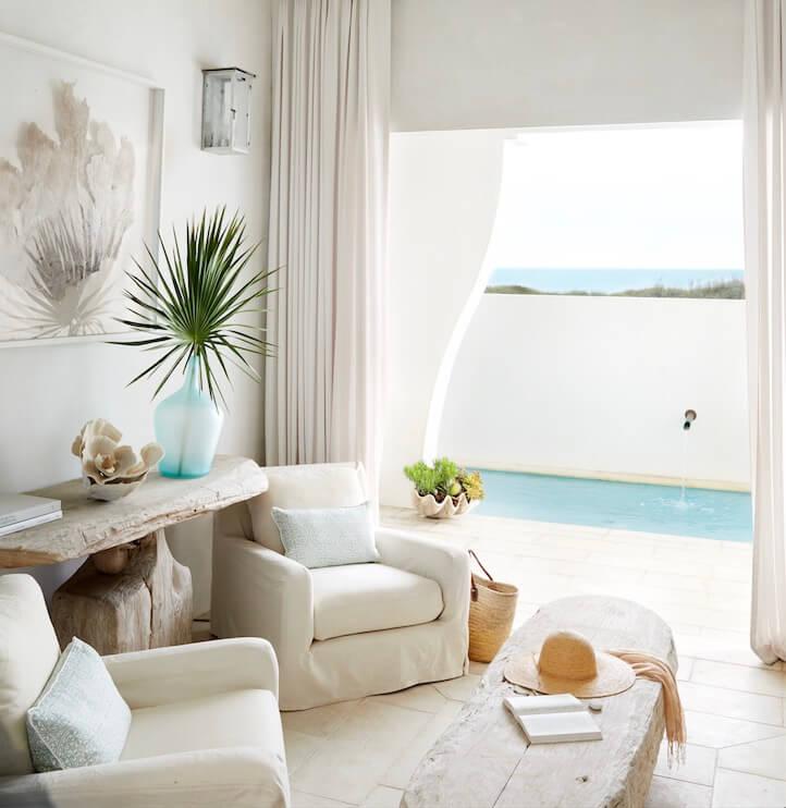 Alys Beach Florida Beach House Guest Lounge