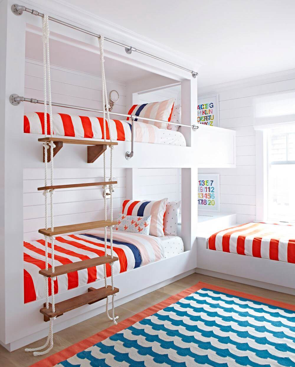 Bay Head Beach Cottage Bunk Beds