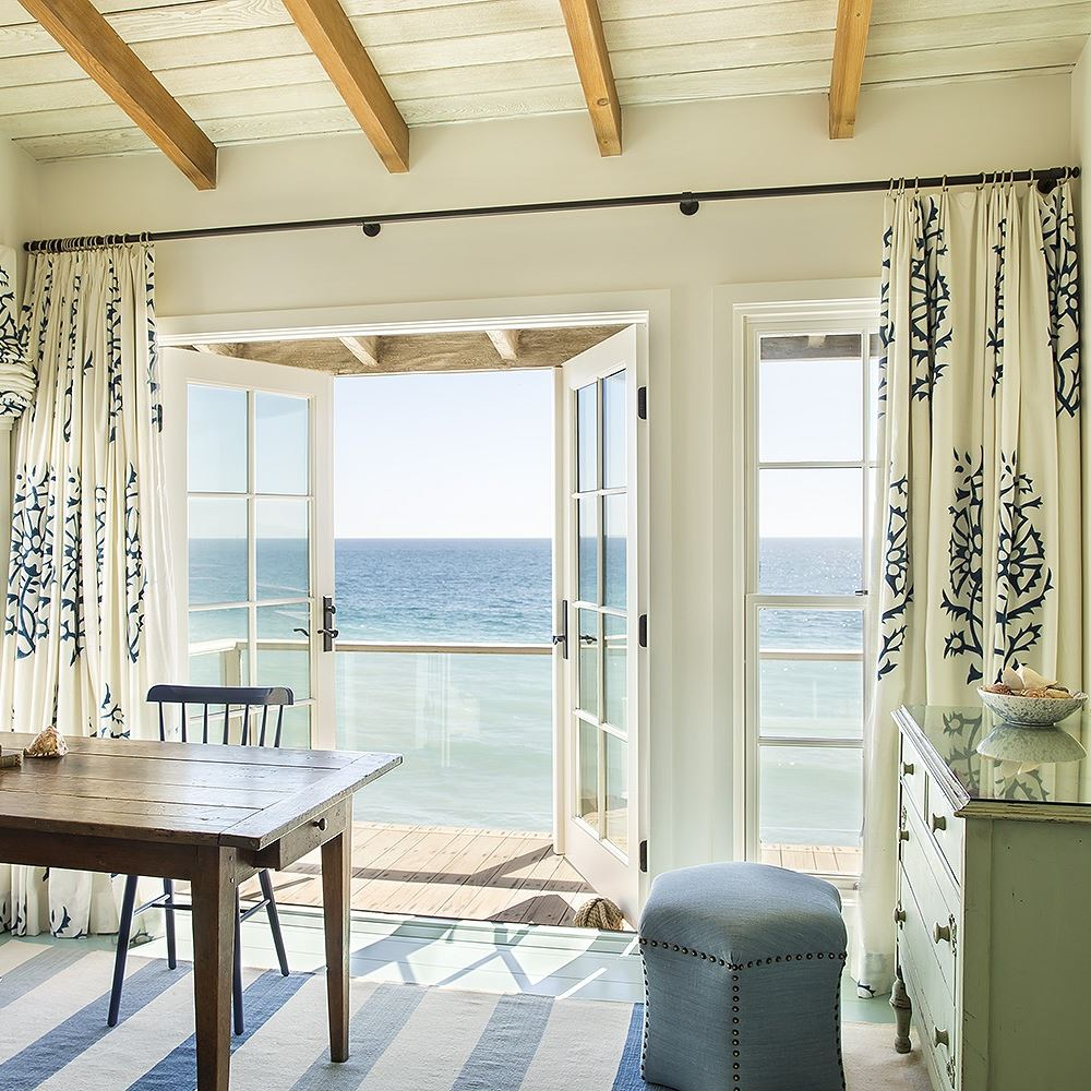 Malibu California Beach Cottage Balcony
