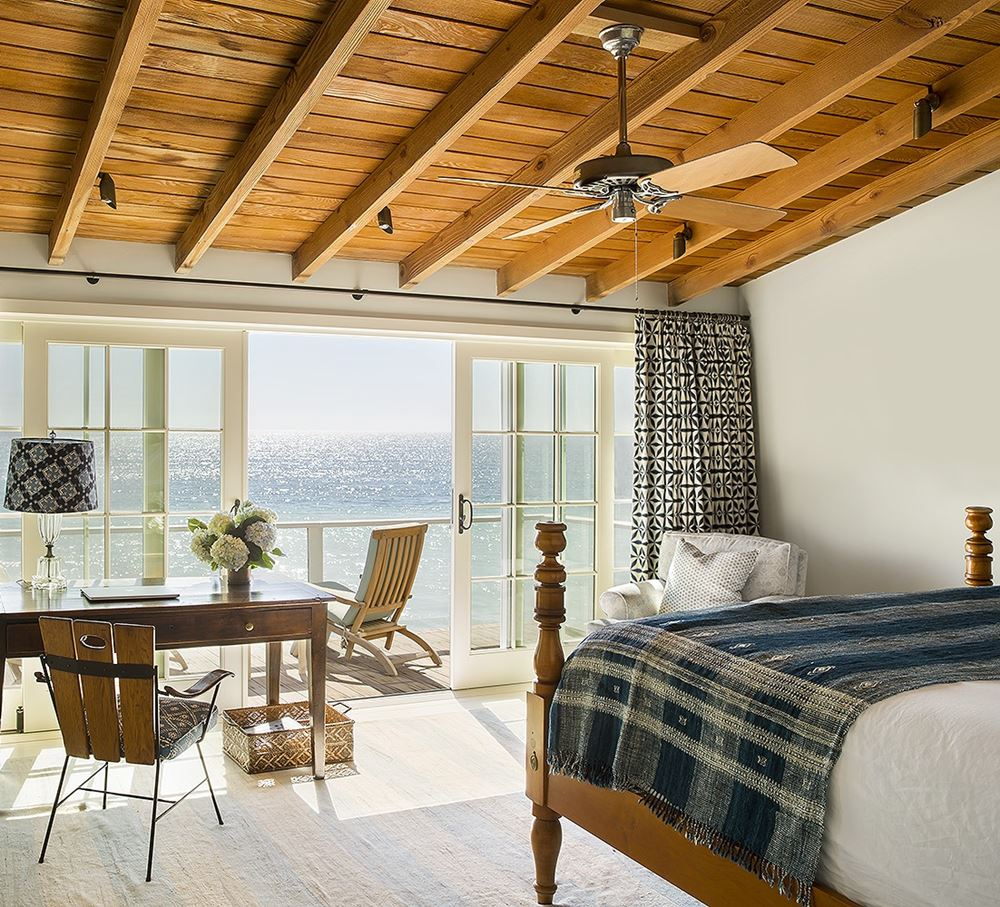 Malibu California Beach Cottage Bedroom
