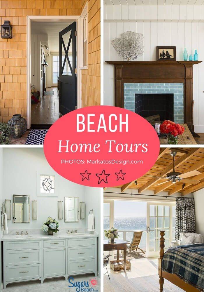 Malibu California Beach Cottage Tour