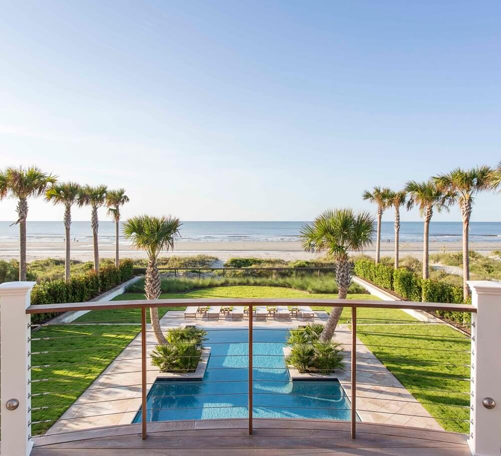 Isle of Palms Beach House Tour Pool
