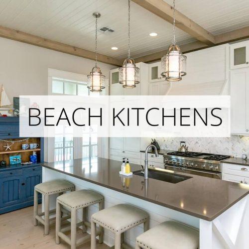 Beach Kitchen Decor: Mellow Yellow Beach House Tour