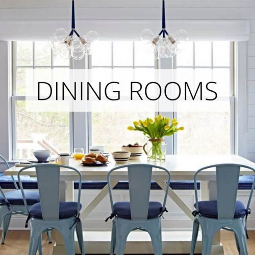 Beach Dining Room Ideas | Coastal Dining Room Decor 2019