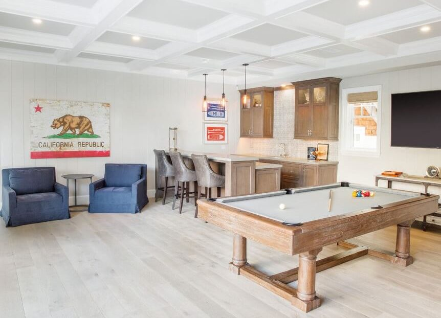 Balboa Peninsula Beach House Recreation Room