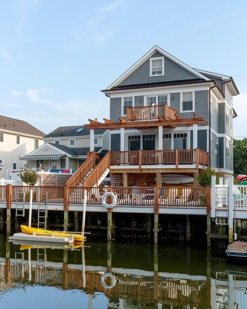 Manasquan New Jersey Beach House Waterfront