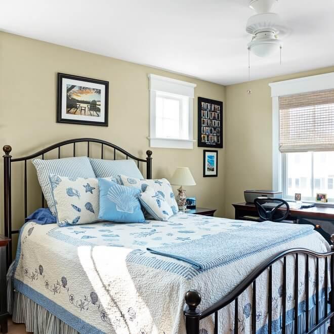 Manasquan New Jersey Beach House Bedroom