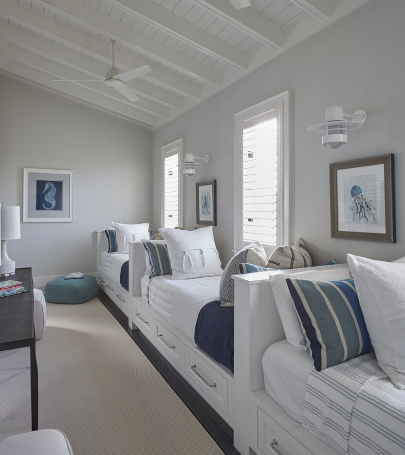 Santa Rosa Beach Florida House Bunkroom