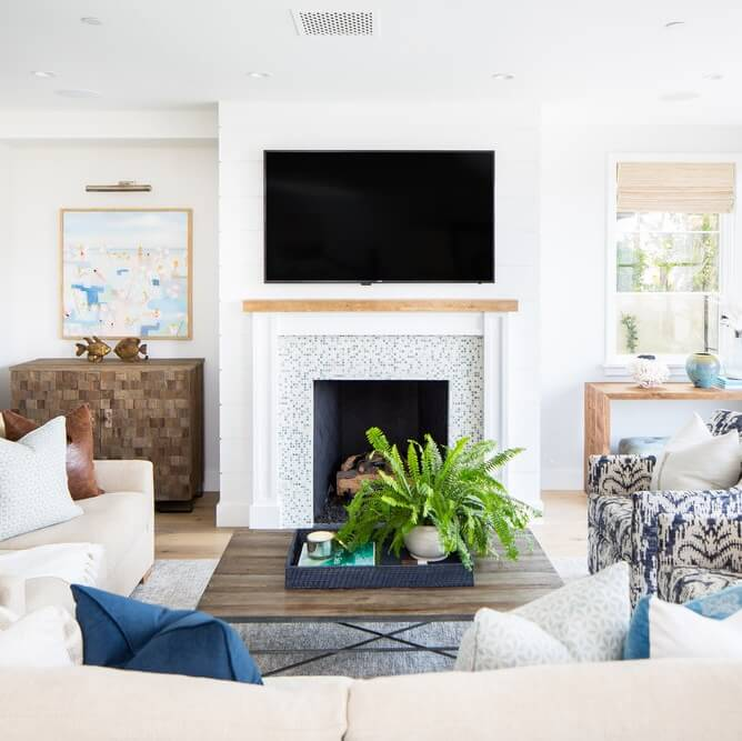 Corona Del Mar Living Room