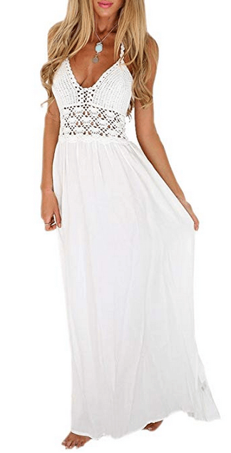 casual white summer dresses