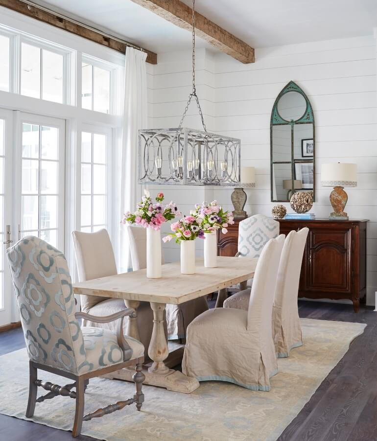 WaterColor Florida Beach House Dining Room