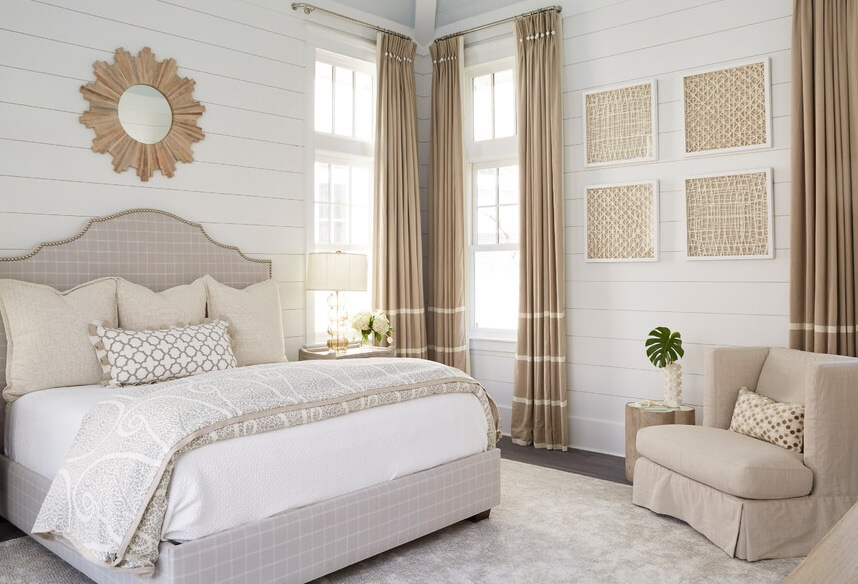 WaterColor Florida Beach House Master Bedroom