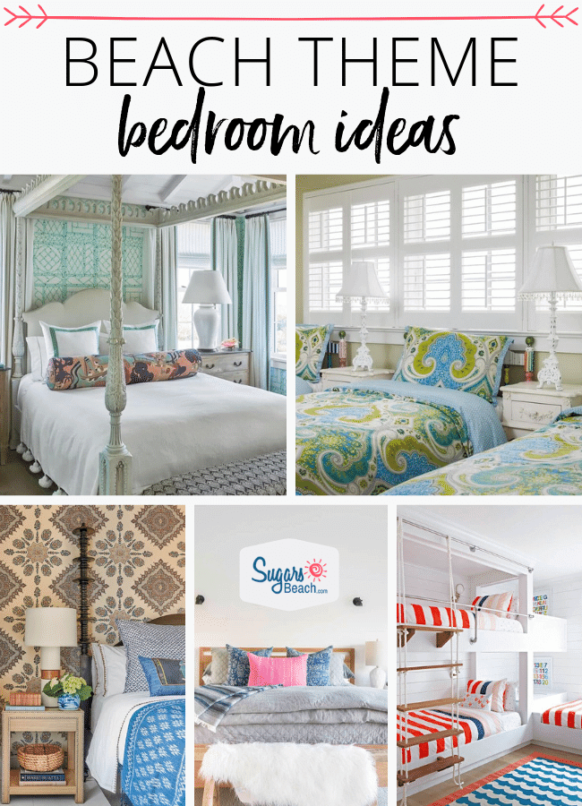 Stupendous Beach Themed Bedrooms Ideas Beach House Bedrooms Home Interior And Landscaping Eliaenasavecom