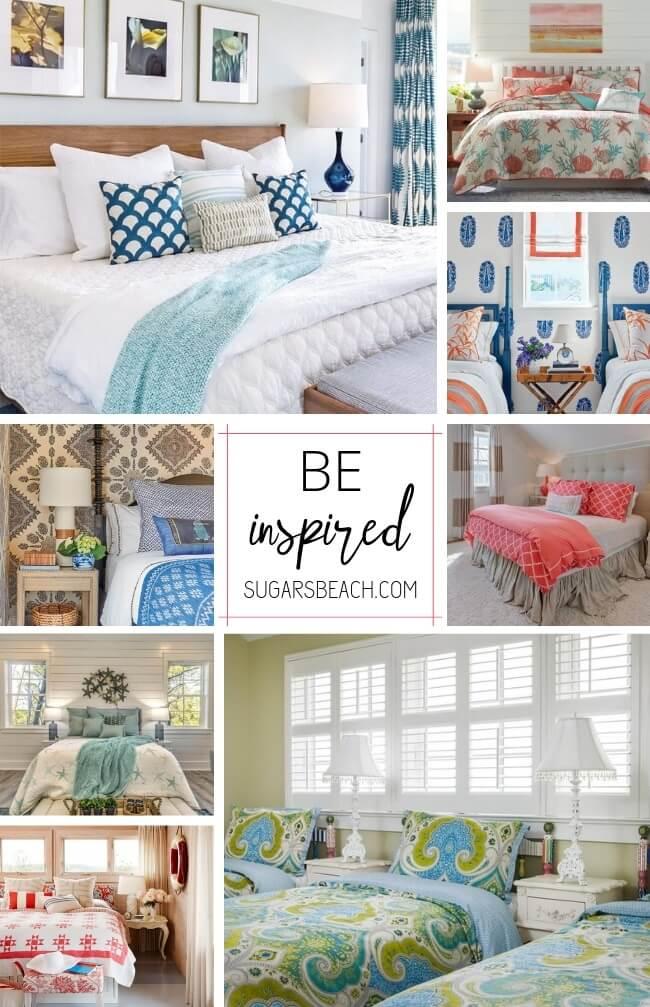 Beach Themed Bedrooms Ideas | Beach House Bedrooms