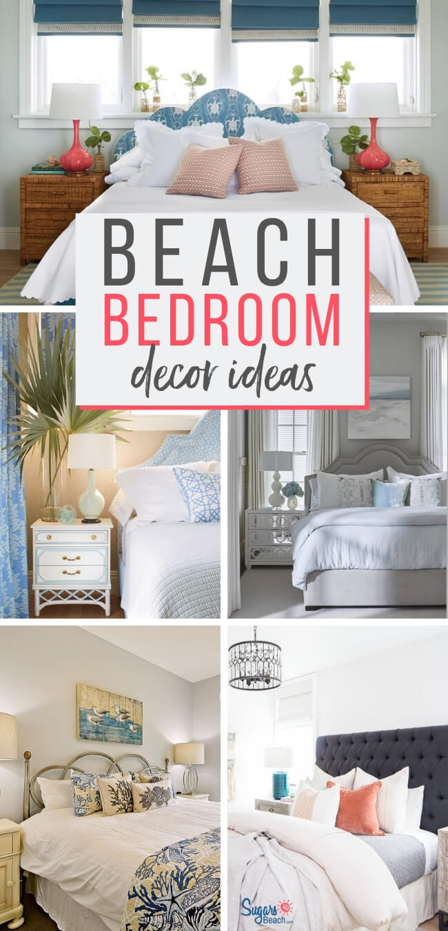 Beach Themed Bedrooms Ideas Beach House Bedrooms