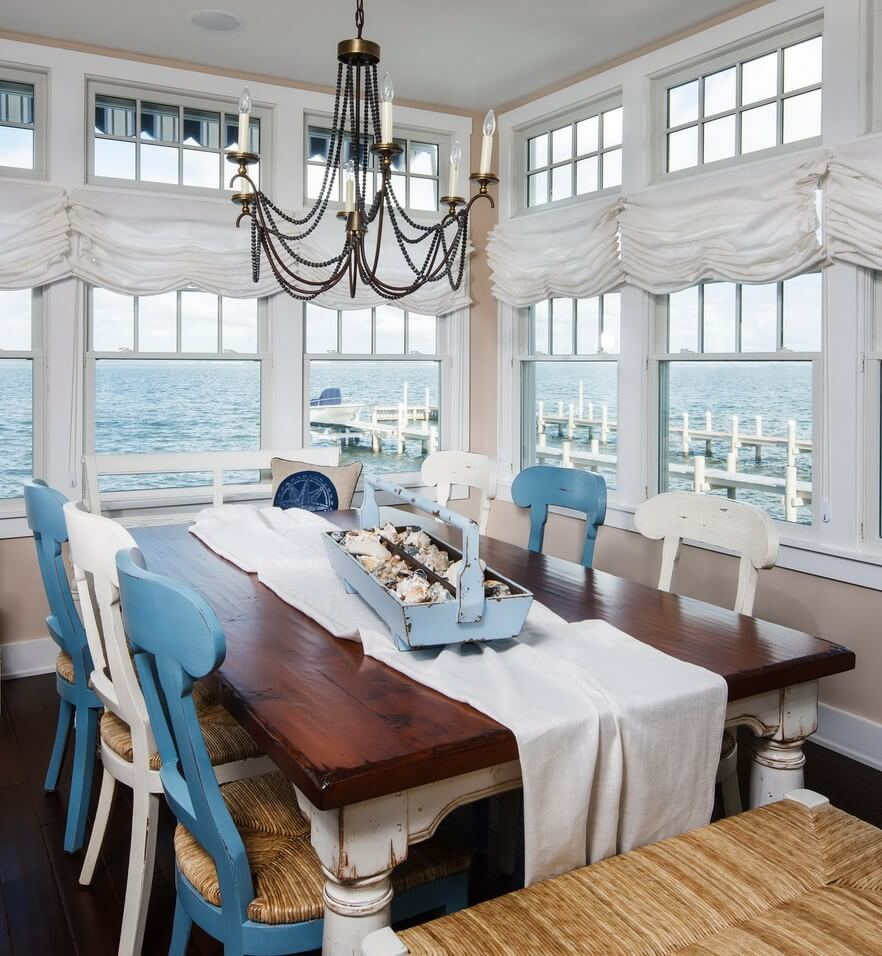 Harvey Cedars Beach House Dining Area