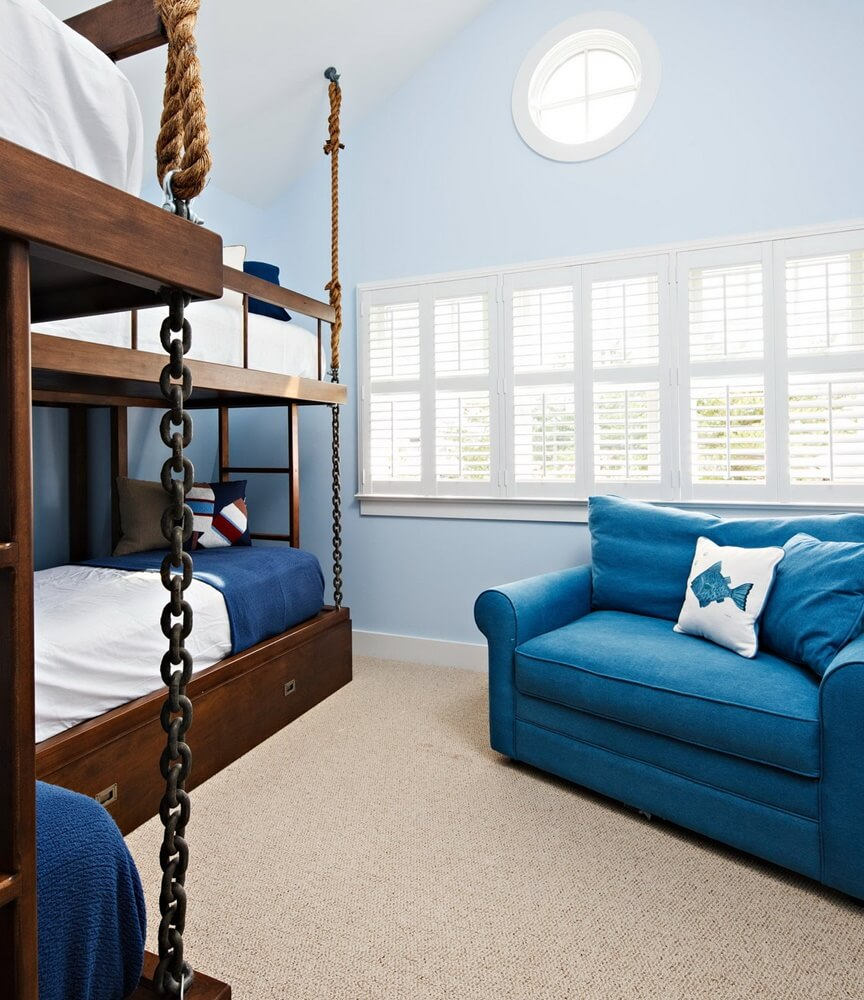 Harvey Cedars Beach House Kids Bedroom