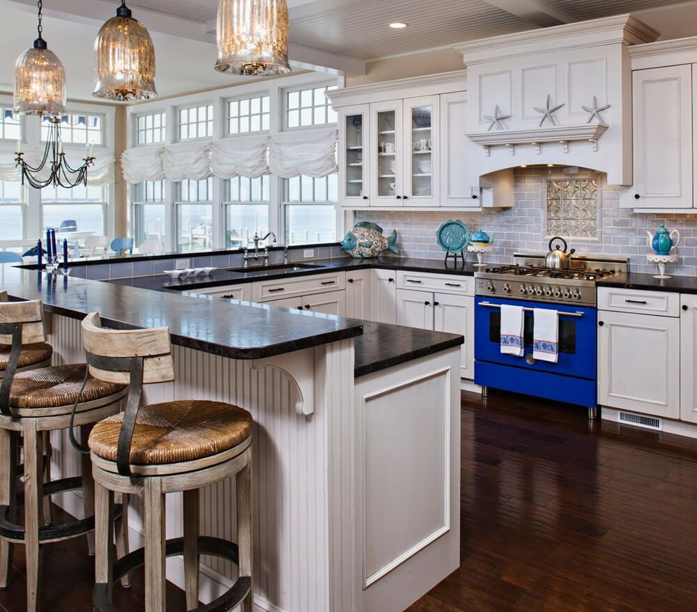 Harvey Cedars Beach House Kitchen