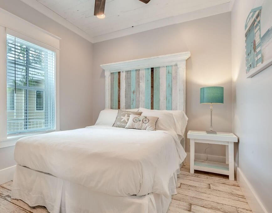 Luxury Santa Rosa Carriage House Bedroom