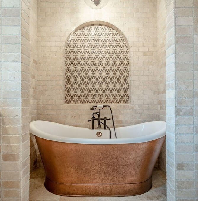 Luxury Santa Rosa Home Tour Bathroom 1