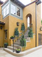 mediterranean style house exterior