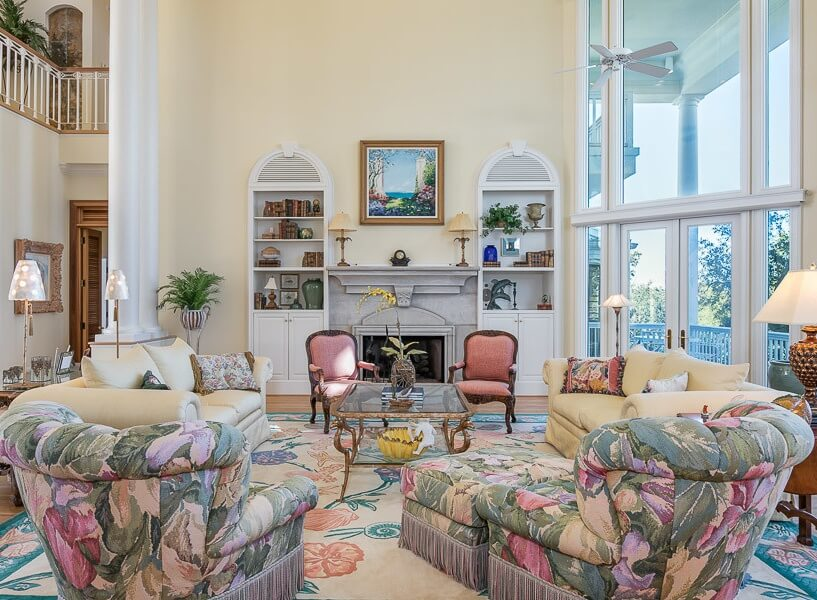 Ono Island Orange Beach House Living Room