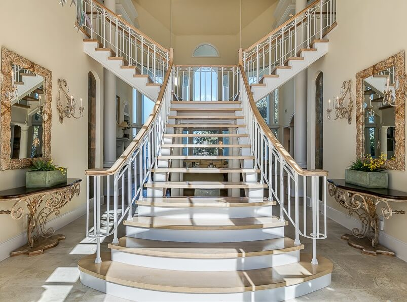 Ono Island Orange Beach House Staircase