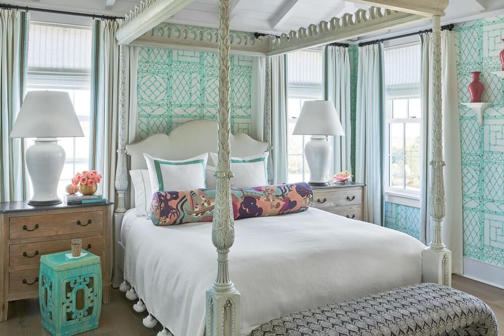 South Carolina Beach House Master Bedroom