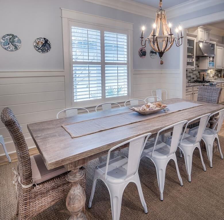 WaterSound Florida Beach House Dining Area