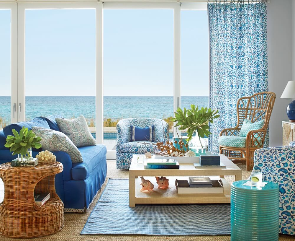 Great Guana Cay Beach House Living Area