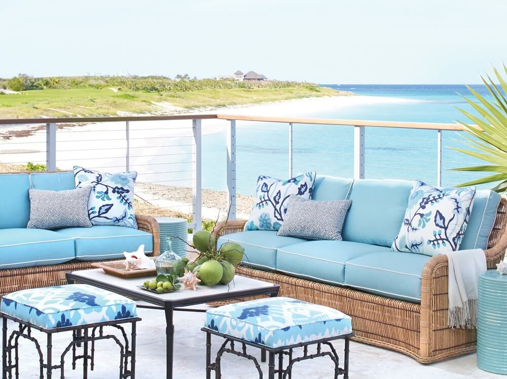Great Guana Cay Beach House Porch