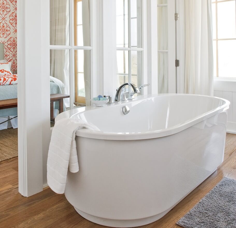 Port Aransas Texas Beach House Bath Tub