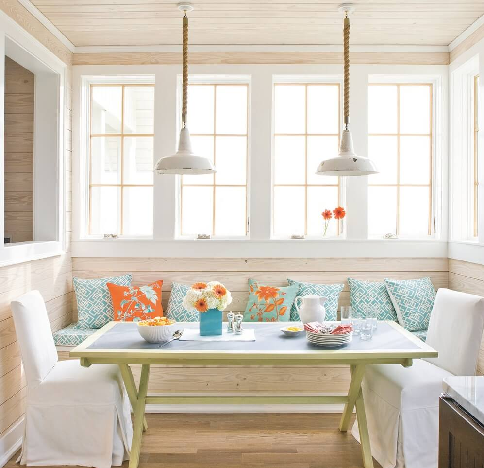Port Aransas Texas Beach House Dining Banquette