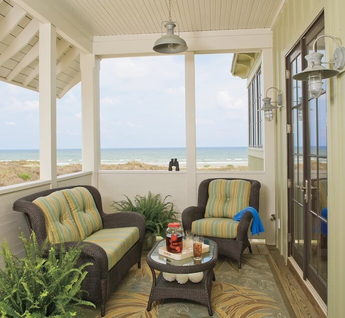 Port Aransas Texas Beach House Outside Living Area