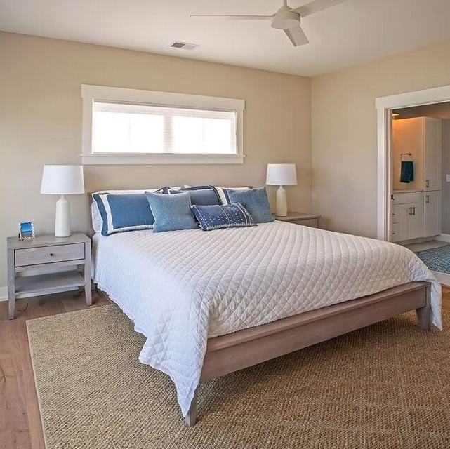 Sinclair Bay Coastal Home Bedroom