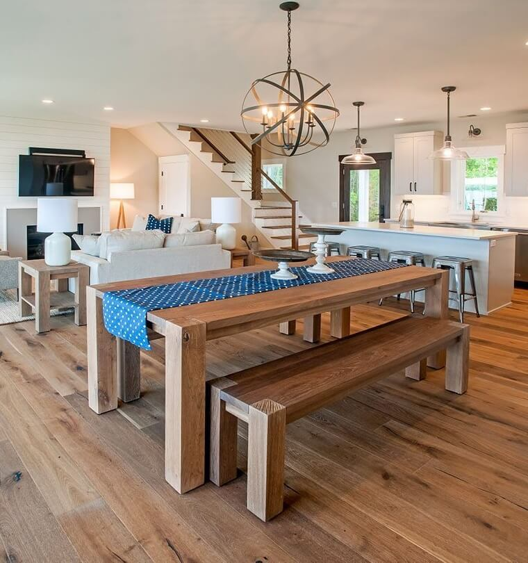 Sinclair Bay Coastal Home Dining