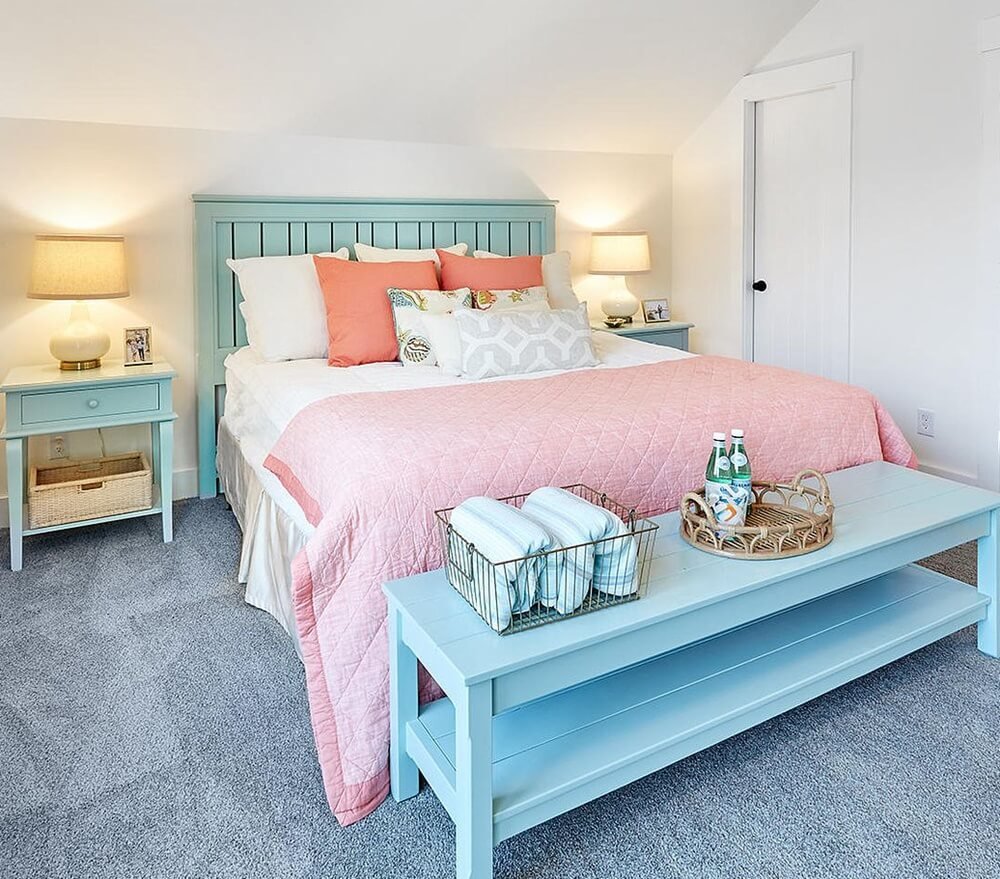 Charleston South Carolina Beach House Bedroom