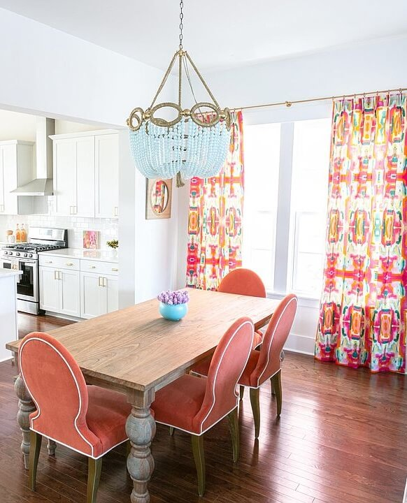 Charleston South Carolina Beach House Dining Room