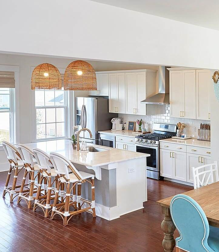 Charleston South Carolina Beach House Kitchen