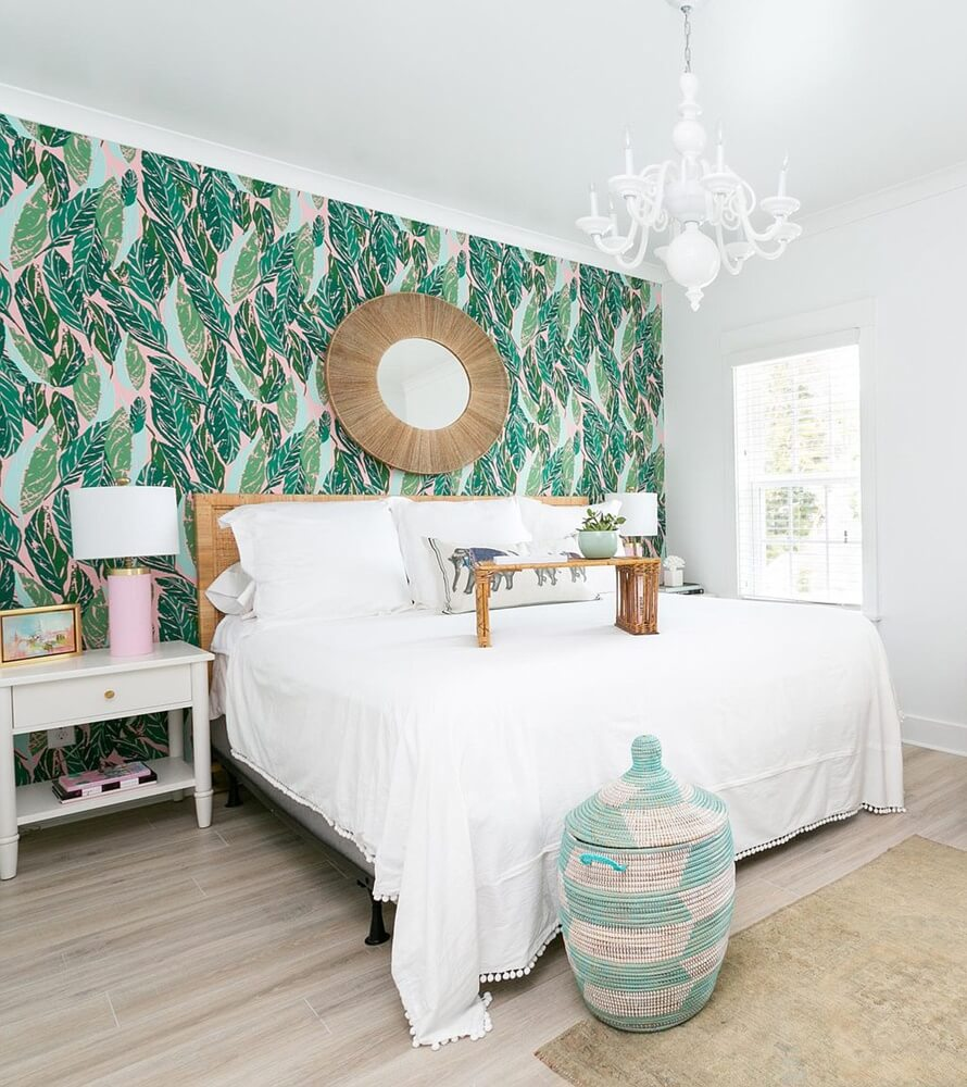 Charleston South Carolina Beach House Master Bedroom