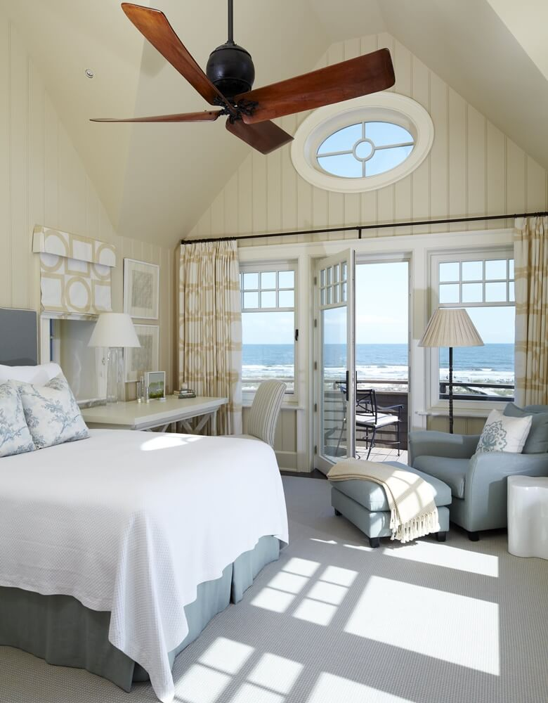 Kiawah Island Beach House Bedroom