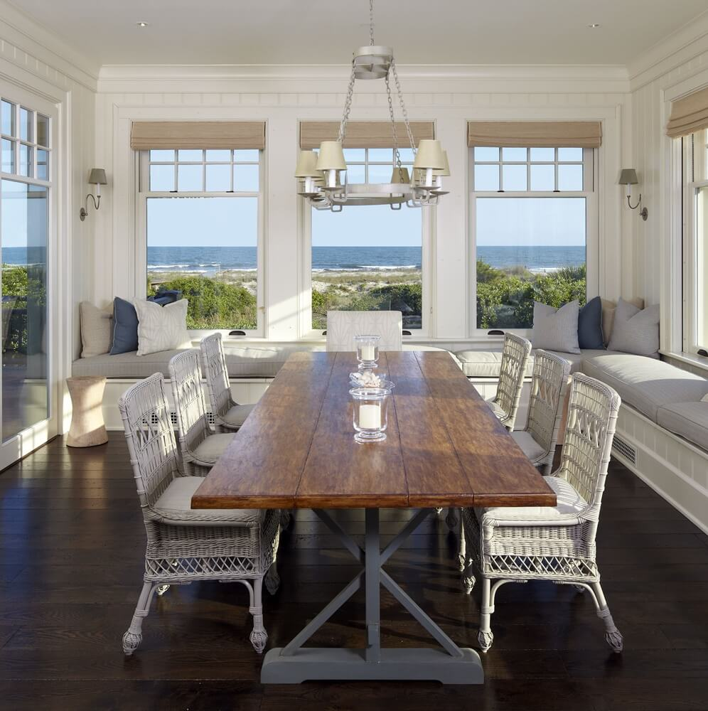 Kiawah Island Beach House Dining Area