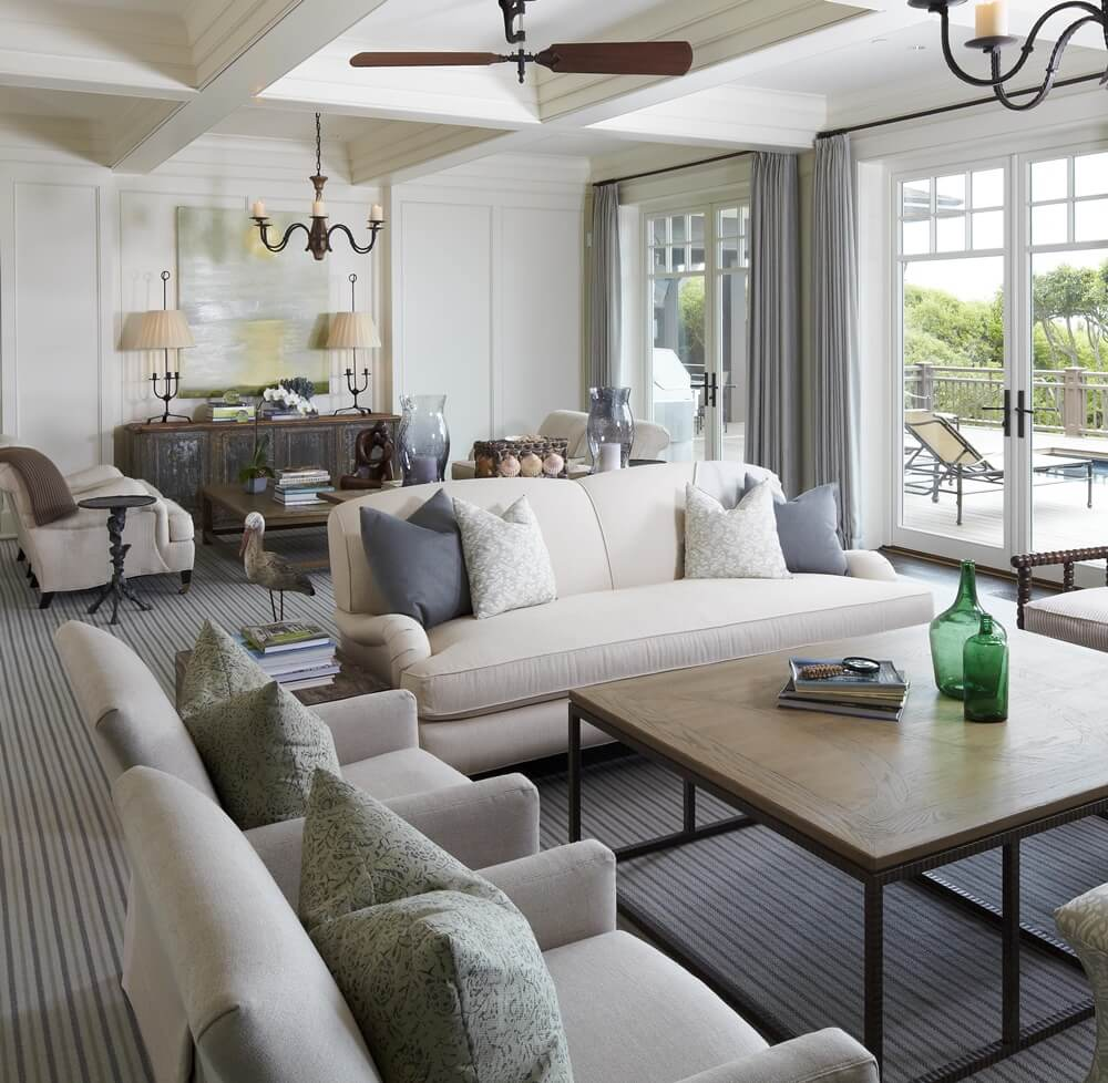 Kiawah Island Beach House Living Room